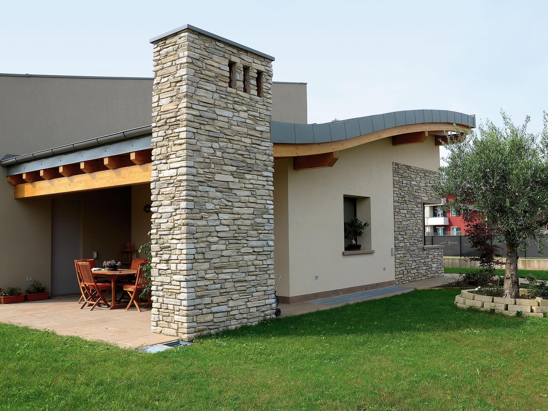 Rivestimento Esterno In Pietra Ricostruita : Edilizia casa rivestimenti in pietra ricostruita