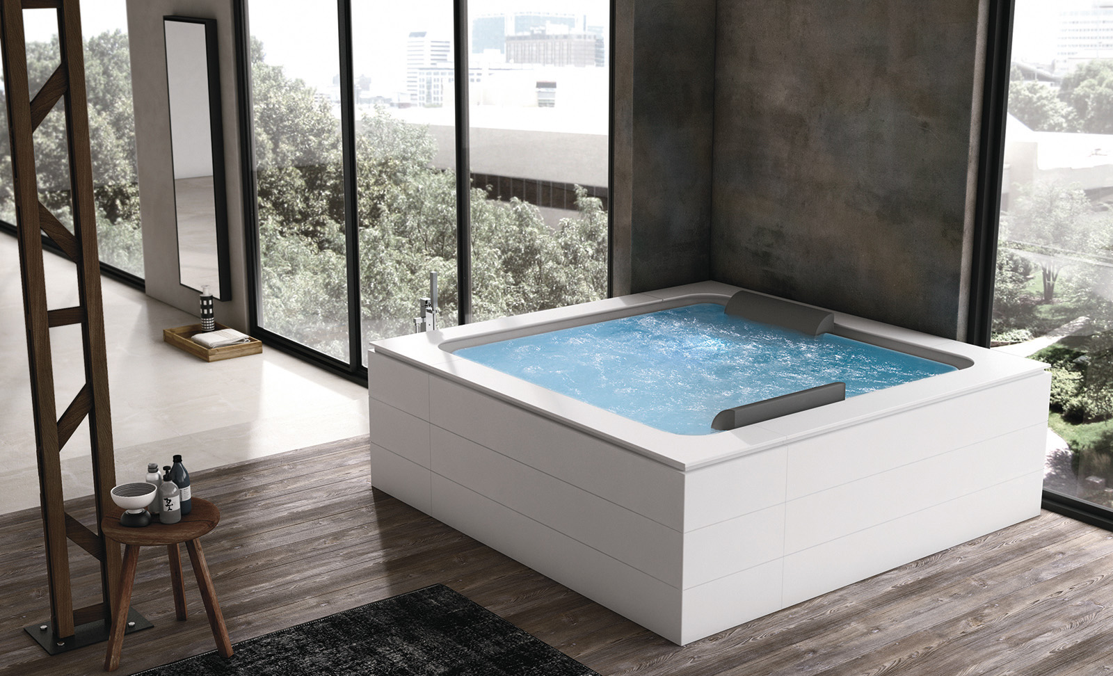 Vasca Da Bagno Quadrata Misure : Vasche da bagno di piccole dimensioni